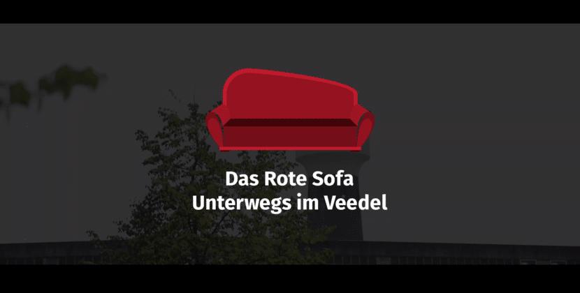 Das Rote Sofa, unterwegs im Veedel