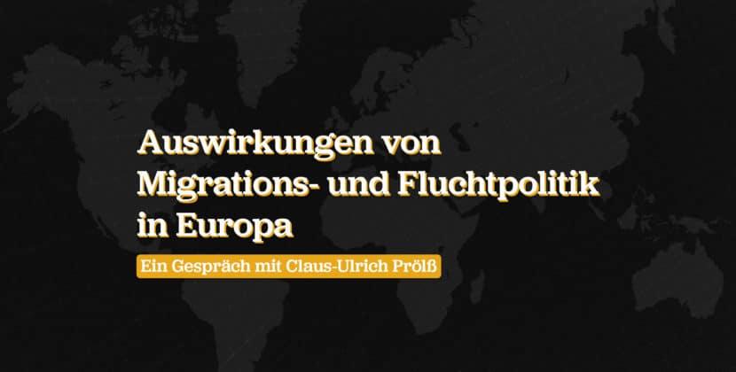 Fluchtpolitik: Ein Gespräch mit Claus-Ulrich Prölß, Kölner Flüchtlingsrat e.V.