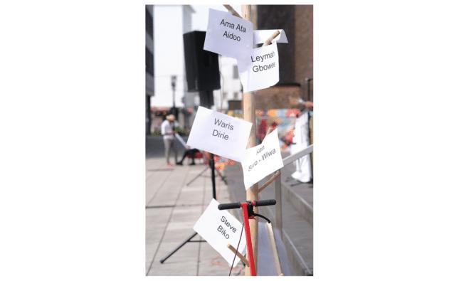 Kann Sprache gerecht sein? – M-Straße