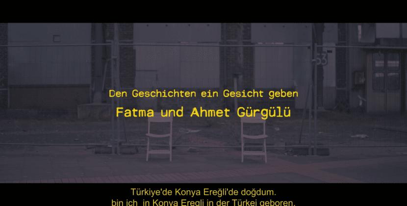 Der Geschichte ein Gesicht geben – und Namen Fatma und Ahmet Görgülü